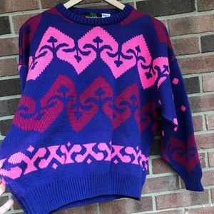 💘80's Sweetheart Valentines Sweater